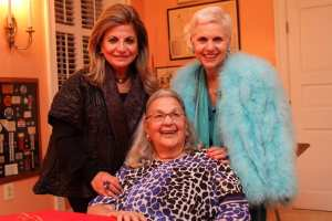 Annie Totah and The honorable Esther Coopersmith