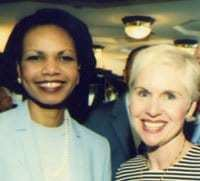 Former Secretary of State Condolezza Rice