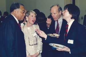 ames Earl Jones, Ward Chamberlin and Ken Burns