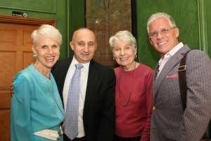 Rev. Mark Farr, Eleanor Clift, Tim Cox